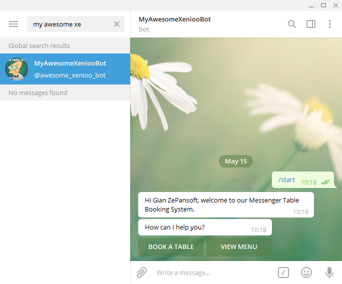How to make a Telegram bot with Xenioo - Xenioo